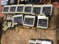 (9) Allen Bradley 1305 VFDs, (7) 2 HP, (1) 3 HP, (1) 5 HP | Rig Fee: $225