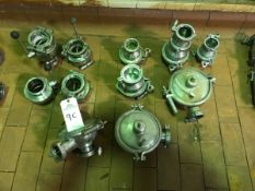 (11) Valves, (4) 3in Butterfly, (7) Check Valves | Rig Fee: $100