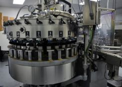 2018 Remanufactured Crown 28-Valve Filler with 6-Head CSI Capper (M - Subj to Bulk   Rig Fee: $3000