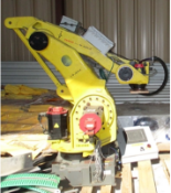 FANUC Robot Model M-420iA, Software Updated in 2017, with Stand and Controller, S/N: F-715 (Loc: TX)