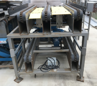Double Row Stacked Pallet Conveyor, 4.5ft, Multi-Directional Capable, Upper/Lower Pallet C (Loc: TX)