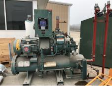 Frick Rotary Screw Ammonia Compressor, 50 HP