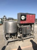 IDD Process & Packaging Flash Pasteurizer, Stainless Steel, Manual (Loc: TX)