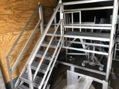 """Stairs to platform - 25"""" x 72"""" - 52"""" off ground   Rig Fee: $125"""