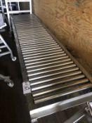 "Roller Conveyor - 24"" x 10'   Rig Fee: $50"