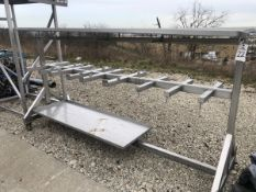Pipe/Tool Rack on casters   Rig Fee: $75