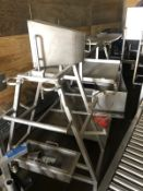 Pipe and Tool Rack with some scrap   Rig Fee: $50