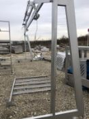 Overhead Piping Support on casters   Rig Fee: $250