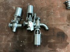 (3) 2IN WAUKESHA AIR VALVES | Rig Fee: $25