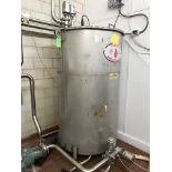 STAINLESS STEEL 400 GAL TANK WITH (4) AIR VALVES | Rig Fee: $150