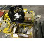 (5) SKIDS - MISC PARTS, AIR CYLINDERS, CASER PARTS, INTERLINE TRAKKER MOBILE COMPUT | Rig Fee: $400