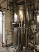 (2) STAINLESS STEEL TANKS, 160 GALLON, 200 GALLON, (3) AIR VALVES | Rig Fee: $300