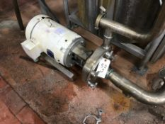 FRISTAM MODEL FPX1742-120 CENTRIFUGAL PUMP, 10 HP, 2.5/2 INCH INLET/OUTLET | Rig Fee: $50