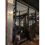 (6 SECTIONS PALLET RACKING, TWO DEEP, 40IN WIDE X 9IN TALL | Rig Fee: $900