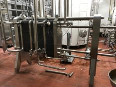AGC CREAM PLATE AND FRAME HEAT EXCHANGER | Rig Fee: $750