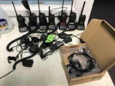 (7) TWO-WAY RADIOS WITH CHARGERS | Rig Fee: $10