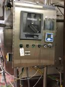 STAINLESS STEEL CONTROL PANEL WITH ANDERSON CHART RECORDER, ALLEN BRADLEY PLC | Rig Fee: $250