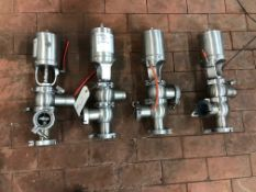 (4) 2IN WAUKESHA AIR VALVES | Rig Fee: $25
