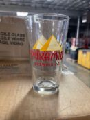 LOT OF BRANDED PINT GLASSES, APPROX 1500 ON PALLET | Rig Fee: 100