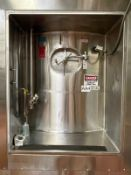 "13,000 GALLON DCI SILO / FERMENTATION AND AGING VESSEL, JACKETED (S/N 94-B-49508, 30' TALL X 152"" DI"