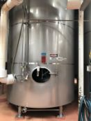 "124 BBL DCI FERMENTATION AND AGING VESSEL, JACKETED (S/N 93-B-45749C, 3000 LBS, 14'6"" TALL WITH 103"""