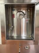 "13,000 GALLON DCI JACKETED SILO / FERMENTATION AND AGING VESSEL, 30' TALL X 152"" DIAMETER"
