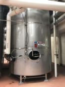 "124 BBL DCI FERMENTATION AND AGING VESSEL, JACKETED (S/N 93-B-45749B, 3000 LBS, 14'6"" TALL WITH 103"""