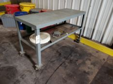 Steel Top Work Table | Rig Fee: $25