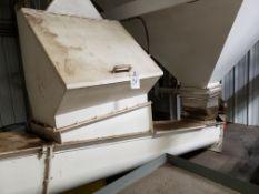 "14"" X 10' Auger Conveyor, W/ Loading Hopper | Rig Fee: $250"