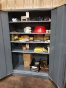2 Door Cabinet, W/ Contents | Rig Fee: $50
