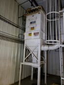 Rolfes Dust Collector, Approx 4'x4'x16' OAH | Rig Fee: $400