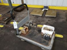 Lot of Scale Weights, W/ Cart | Rig Fee: $25
