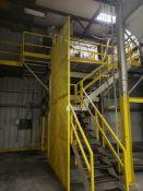 "Ribbon Blending/Bagging Station, W/ Walter Equipment 48"" X 10' Ribbon Blender, M | Rig Fee: $5500"