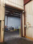 Raynor 8' X 12' High Speed Traffic Door, M# SJ1011 | Rig Fee: $400