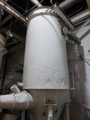 "Dust Collector, W/ Bottom Auger Feeder & Air Lock, Approx 6'x6'x16'6"" | Rig Fee: $400"