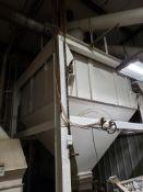 8' X 8' X 4' Sidewall Dry Storage Silo, Load Cell Mounted | Rig Fee: $1200