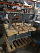 Lot of (2) Power Feed Roller Conveyor Sections | Reqd Rig: No Cost