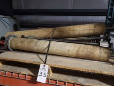 Lot of Conveyor Rollers & Shafts | Reqd Rig: No Cost