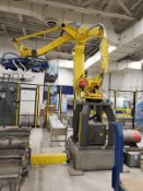 Fanuc Robotic Palletizer System, W/ M-410iB, Conveyors, Contorls, Fencing, S/N | Reqd Rig: See Desc