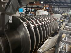 Carrier Vibrating Equipment Vibratory Spiral Conveyor, M# TMSP-5424-11, Dimple J | Reqd Rig: No Cost