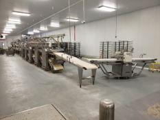 (BULK BID) Moline Dough Finishing Line (Lots 6C-6U) - Sub to Piece (Delay Delivery) | Contact Rigger
