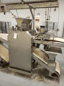Moline Dough Roller, W/ (2) Flour Dusters, - Subj to Bulk (Delay Delivery) | Rig Fee: Contact Rigger