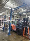 Gorbel 150 lb. Gantry, W/ Bal-Trol Lift Assist | Rig Fee $175