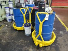Lot of Spill Containment Skids & Carts | Rig Fee $25
