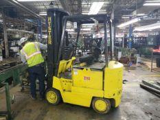 Hyster 3,500 Electric Forklift, S/N 147794V | Rig Fee $150
