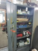Storage Cabinet, W/ Contents | Rig Fee $50
