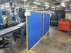 Lot of (7) Welding Screens | Rig Fee $25