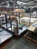 Presto Hydraulic Lift, W/ Personnel Cage   Rig Fee $50