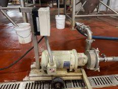 Centrifugal Transfer Pump, 3 HP Baldor Reliance Motor
