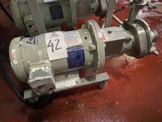 Fristam Diaphragm Transfer Pump, 3 HP Baldor Reliance Motor